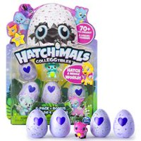 Hatchimals - CollEGGtibles - 4-Pack + Bonus (Styles & Colors May Vary) by Spin Master
