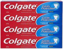Colgate Cavity Protection Fluoride Toothpaste, Regular