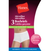 Hanes Women's Boyshort Briefs - Pack of 3 L
