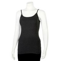 George Women's Fitted Cami Black M/M