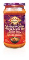 Patak's Original Spicy Butter Chicken Cooking Sauce