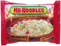 Mr.Noodles Spicy Beef Flavour Instant Noodles