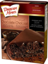 Duncan Hines Triple Chocolate cake mix, 595 g