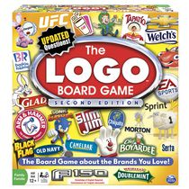Spin Master Games - Logo 2nd Edition Board Game