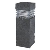 Paradise GL33749ST Low Voltage Polyresin 3W LED Stone Bollard Light
