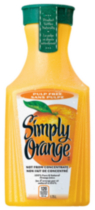 Simply Orange Sans Pulpe