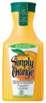 Simply Jus D'orange avec Pulpe