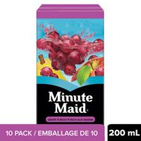 Minute Maid Punch au Raisin 10x200mL