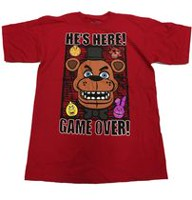 T-shirt Five Nights at Freddy's pour garçons G(14)