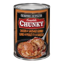 Campbell's Chunky Chicken & Sausage Gumbo Soup