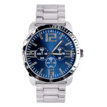 Trend Watches Men's Classic Style Watch with Blue Sunray Dial