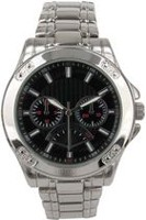 Trend Watches Men's Classic Style Watch with Black Sunray Dial