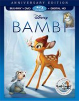 Bambi - (Blu-ray + DVD + Digital HD)