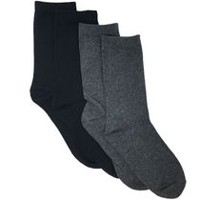 George Boys' 4-Pack Crew Socks