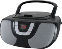 Sylvania Portable CD/Radio BoomBox - Black