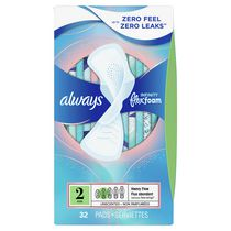 Always Infinity Unscented Heavy Flow Pads with wings