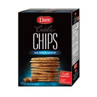 Dare Sea Salted Caramel Cookie Chips - 170G