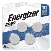 Energizer® Coin Lithium Battery - 2032BP-4