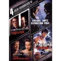 4 Film Favorites: Sylvester Stallone Collection: Tango & Cash / Demolition Man / Specialist / Over The Top