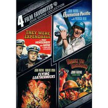 4 Film Favorites: John Wayne Collection - They Were Expendable / Operation Pacific / Flying Leathernecks