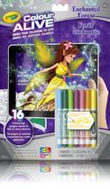 Crayola Colour Alive Enchanted Forest Colouring Book