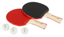 2 Player Table Tennis Paddle and Ball Set