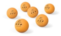 40 mm 3 Star Orange Table Tennis Balls - 6's