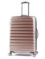 "iFLY Hard Sided Fibertech Luggage 30"", Rose Gold"
