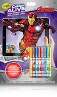 Pages à colorier animées Avengers Colour Alive de Crayola