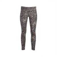 George Plus Women's Jersey Leggings Leopard 2X