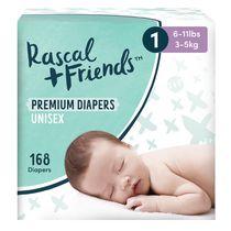 Rascal + Friends Premium Disposable Diapers