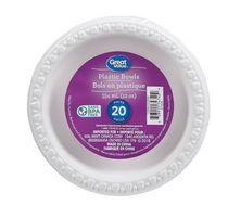 Great Value Plastic Bowls