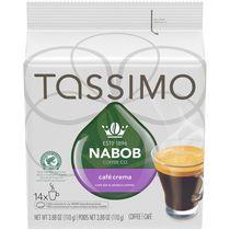 Disques individuels T DISC de café Crema Nabob Tassimo