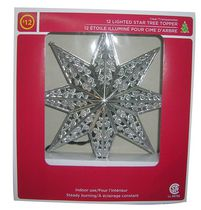 12 Lighted Star Tree Topper