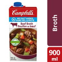 Campbell's No Salt Added Beef Broth