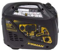 Firman Power Equipment W01781 Gas Powered 2100/1700 Watt (Whisper Series) Extended Run Time Inverter Generator