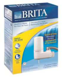 Brita White Faucet Filtration System