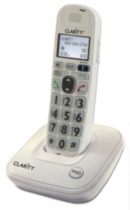 Plantronics Clarity D704 DECT 6.0 Amplified/Low Vision Cordless Phone with CID Display