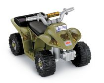 Fisher-Price Power Wheels – Lil' Quad camouflage