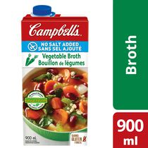 Campbell No Salt Added Natural Vegetable Broth