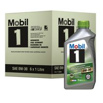 Mobil 1 Advanced Fuel Economy, Advanced Synthetic Motor Oil, 0W-30