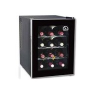 Curtis Igloo FRW1201 12-Bottle Wine Cooler, Black