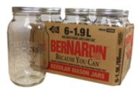 Bernardin Regular Mason Jar Widemouth Lid – 1.9 L
