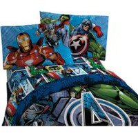 Mon-Tex Mills Avengers Assemble Sheet Set - Twin