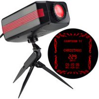 Gemmy Industries LightShow SmartLights Projection Countdown to Christmas and More