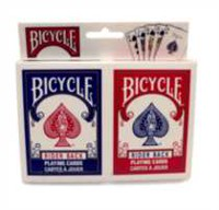 Cartes à jouer Bicycle Poker - ensemble de 2