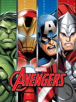 Mon-Tex Mills Avengers Assemble Fleece Blanket