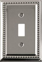 Atron Electro Industries Vintage Chrome Toggle Wall Plate
