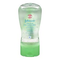 JOHNSON'S® Baby Oil Gel with Aloe Vera & Vitamin E, 200 mL
