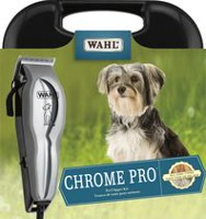 Wahl Chrome Pro Pet Clipper Kit